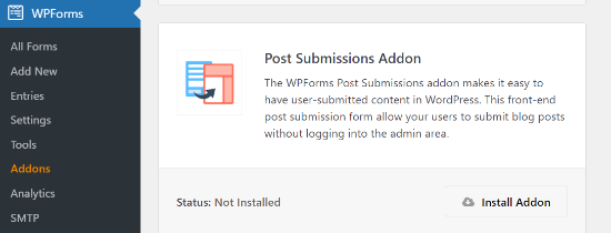 Instalar el complemento de envíos de publicaciones