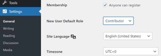Permitir el registro de usuarios en el sitio de WordPress