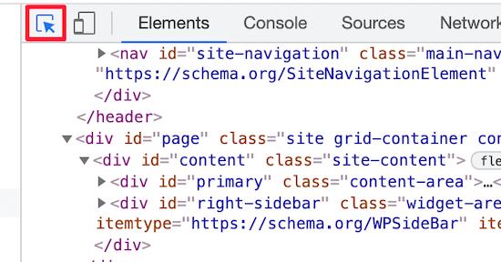 Haga clic en seleccionar un icono de elemento