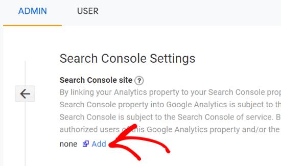 Agregar consola de búsqueda