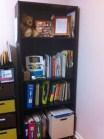 หิ้งหนังสือในห้องทำงานของฉัน (Mar. 5, 2011); $26