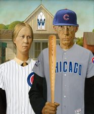 American Gothic (1930) Grant Wood, 1891–1942
