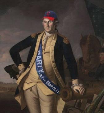 George Washington at the Battle of Princeton (1779) Charles Willson Peale, 1741-1827