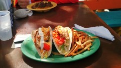 Jerk Chicken Taco ที่ร้าน Rhythms