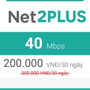 gói cước net2plus viettel 2019