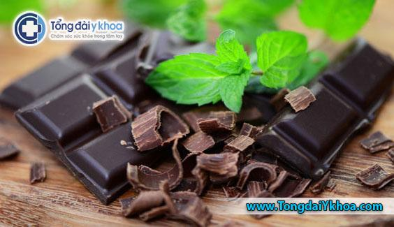 Sôcôla đen giúp làm giảm chứng đau nửa đầu.