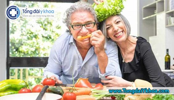 Người ăn chay máu sạch, nên tuần hoàn nhanh, khiến cơ thể nhẹ nhõm thoải mái, hoạt bát, tinh lực dồi dào, chịu đựng giỏi, suy nghĩ nhanh lẹ và sống lâu.