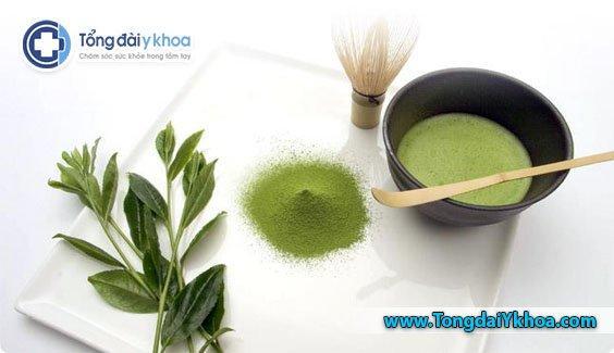 Lợi ích trà xanh đối với sức khỏe