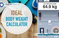 Tính cân nặng lý tưởng - IBW Calculator