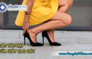 Các tác hại của giày cao gót mà chị em cần biết