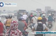 Hà Nội bị ô nhiễm không khí, khẩu trang y tế cũng không thể ngăn chặn