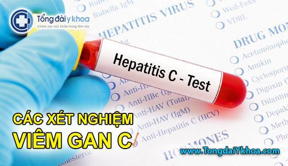 cac xet nghiem viem gan c xet nghiem HCV anti-hcv