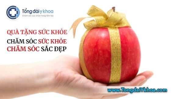 quà tặng sức khỏe health gift ưu đãi khám chữa bệnh