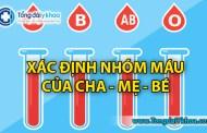 Công cụ xác định nhóm máu của con hoặc cha mẹ - Blood Type Calculator