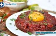 Ăn thịt bò sống, tái có an toàn không ?