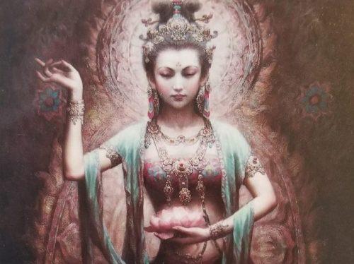 Kuan Yin Compassion crop