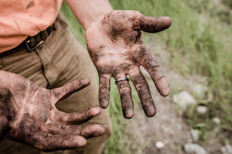 Hands in the dirt Boulder health
