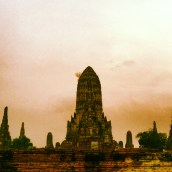 Mini Angkor on our river trip