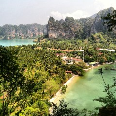 View from East Railay viewpoint!