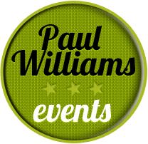 Paul Williams Events Logo