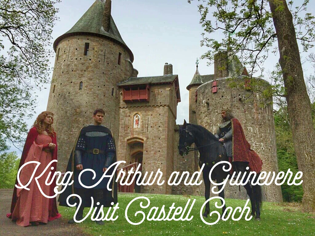 King Arthur and Guinevere Visit Castell Coch header