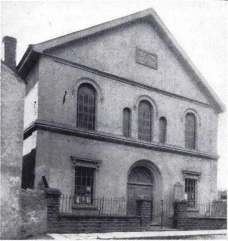 Old photo of Bethesda Chapel