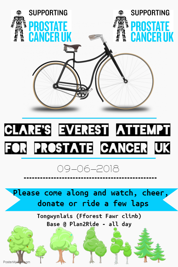 Clare Good fundraising poster