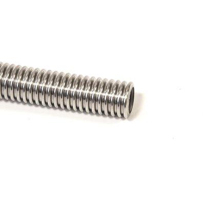 flexible stainless steel exhaust tubing
