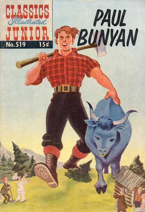 Birth of Paul Bunyan