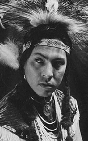 Joe Medicine Crow as a young man.