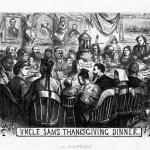 Uncle Sam's Thanksgiving Dinner – 1869