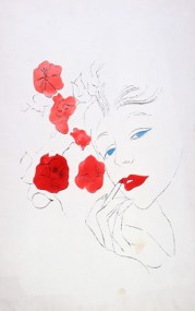 1950s Female Head, Warhol