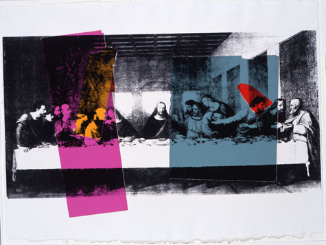 The Last Supper, Warhol 1986 a personal favorite
