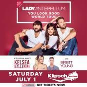 http://www.livenation.com/events/662296-jul-1-2017-lady-antebellum-you-look-good-world-tour-2017