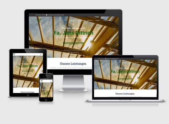 Webseite | Meisterei Jens Dittrich