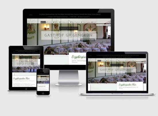 Webseite | Gsthof Giegengrün