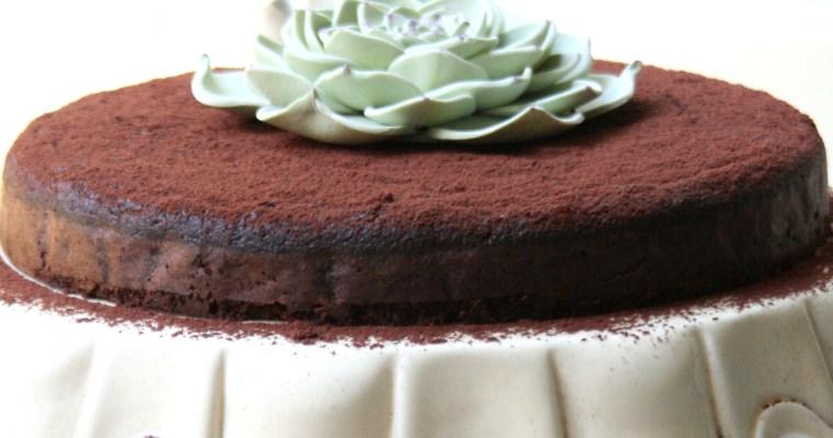 Flourless Chocolate & Beetroot Cake