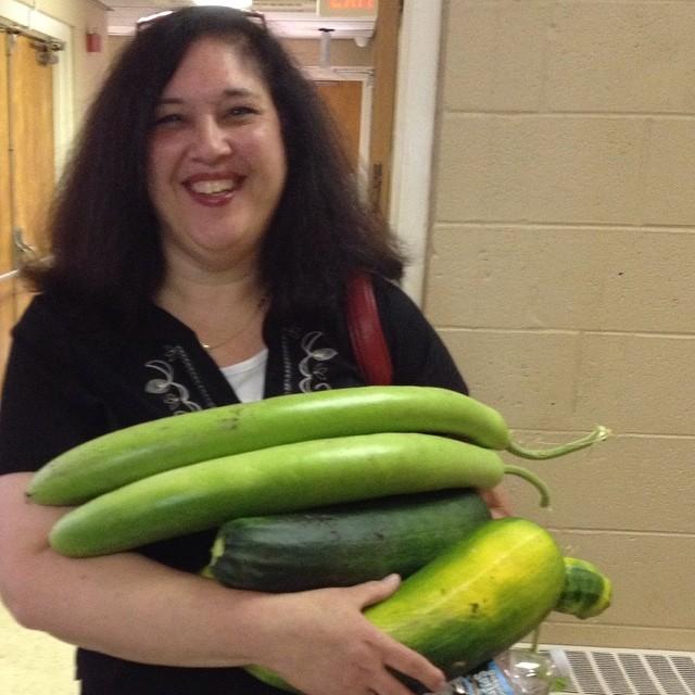 Toni Campbell - donation garden outreach