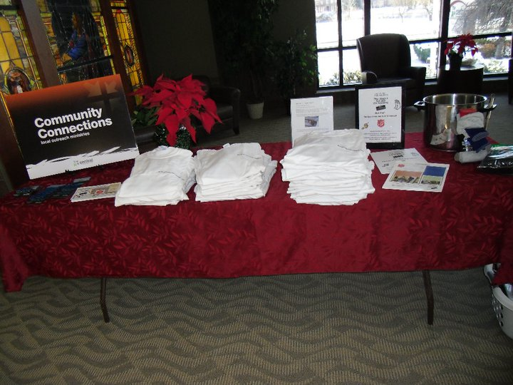 sign up table