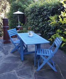 Painting Outdoor Furniture with Chalk Paint
