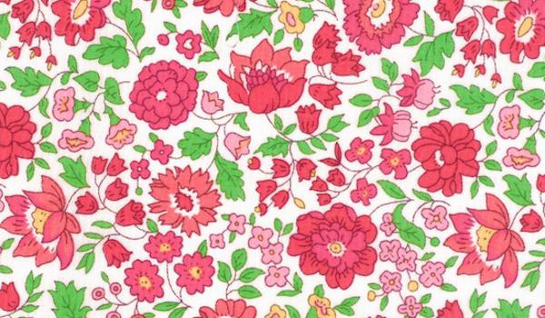 Pastel Floral Print Cloth