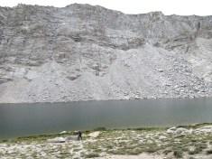 Gordon down by the lake