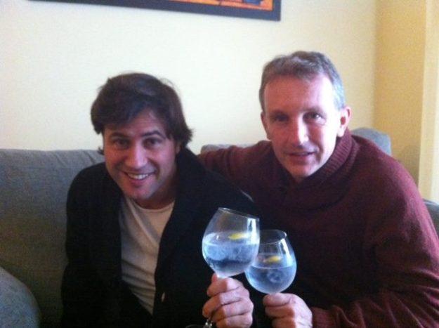 Albert Roca y Carles Cuadrat