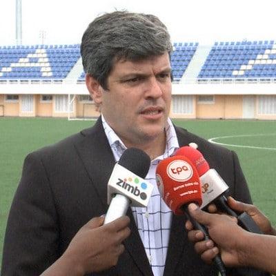 José Luís Garrido. Director Ejecutivo de la Academia de Futebol de Angola - AFA