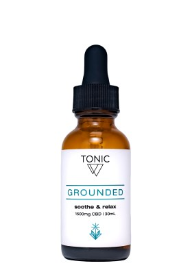 grounded tonic cbd whole plant extract
