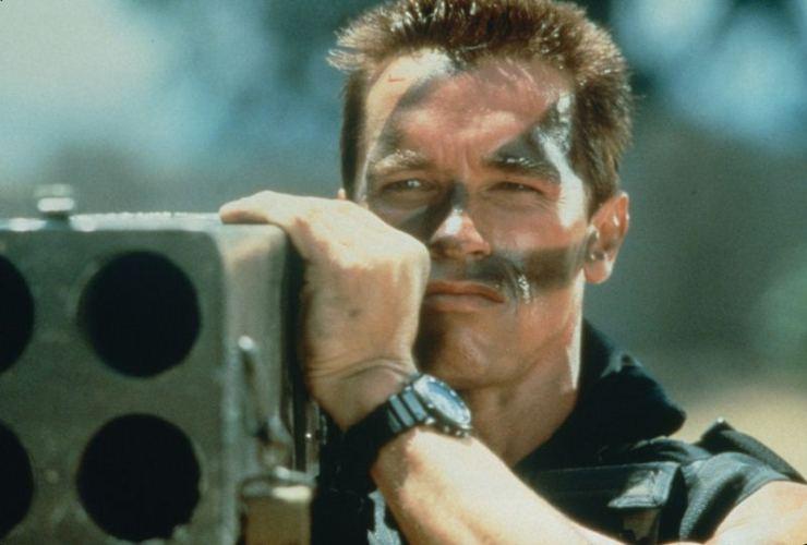 Arnold Schwarzenegger, terminator, batman, the running man, predator, commando, komando, total recall, pamięć absolutna, musical, jon & al, legolambs, conan,