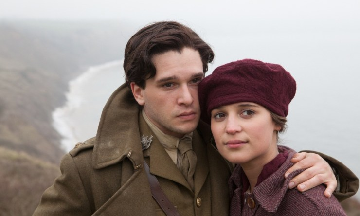 alicia vikander, kit harington, testament of youth, testament młodości, gra o tron