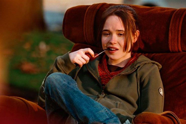 Juno, Ellen Page, szkoła, Michael Cera