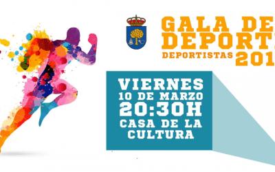 XVII Gala del Deporte (Deportistas del 2016) en Navalmoral de la Mata
