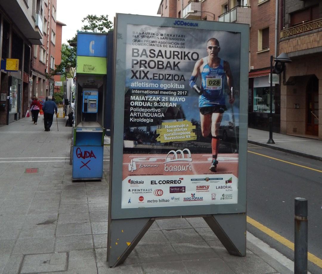 Toni Franco participará en el XIX BASAURIKO PROBAK 2017